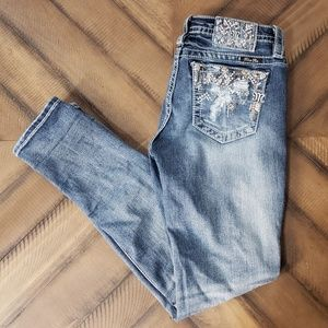 Miss Me Jeans - NEW - Distressed and Embezelled Miss Me Jeans